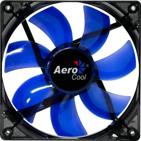 COOLER FAN AEROCOOL PARA GABINETE 12CM EN51394 LED AZUL