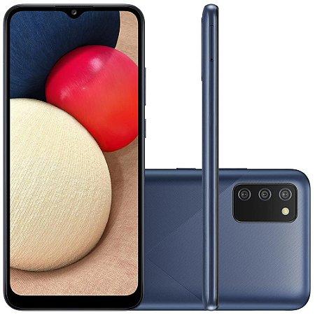 SMARTPHONE SAMSUNG GALAXY A02S 32GB 3GB RAM CAM TRIPLA AZUL