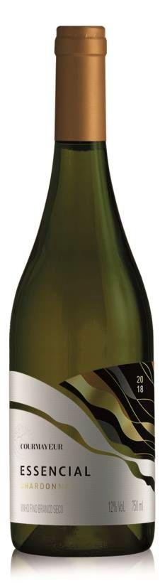 Courmayeur Essencial Branco Chardonnay 750ml