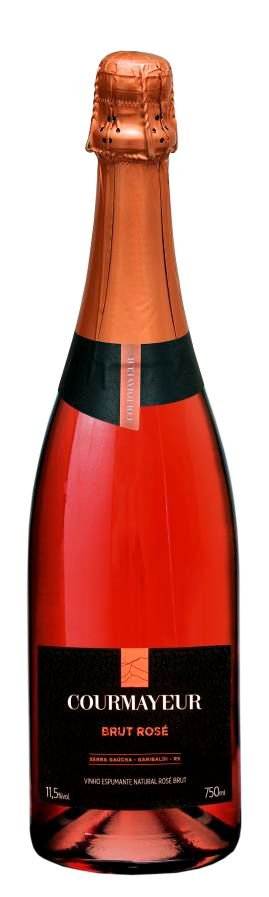 Courmayeur Espumante Brut Rosé 750ml