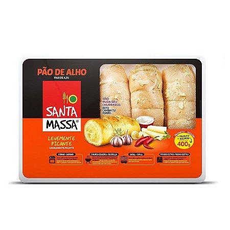 Pão de Alho Picante 400grs - Santa Massa
