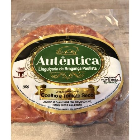 Linguiça Calabresa Com Queijo Coalho e Tomate Seco - Autentica Bragança
