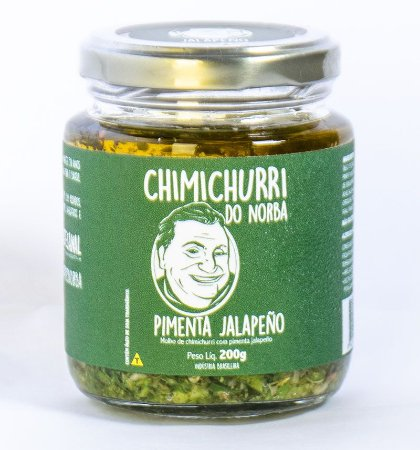 Molho Chimichurri Jalapeno - Chimichurri do Norba