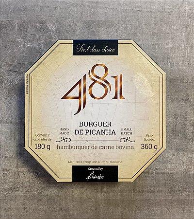 Burguer Picanha 180grs (2 unidades) - 481