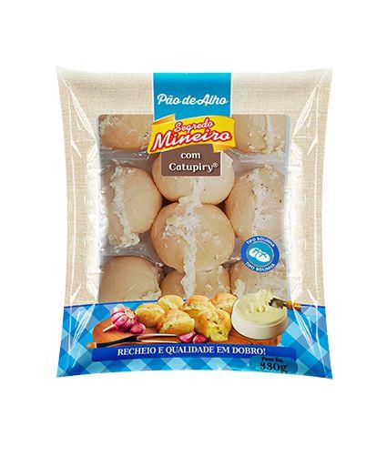 Pão de Alho Bolinha com Requeijão - Segredo Mineiro