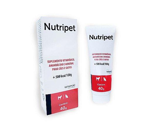 Nutripet 40g Suplemento de vitamínico, aminoácido e mineral