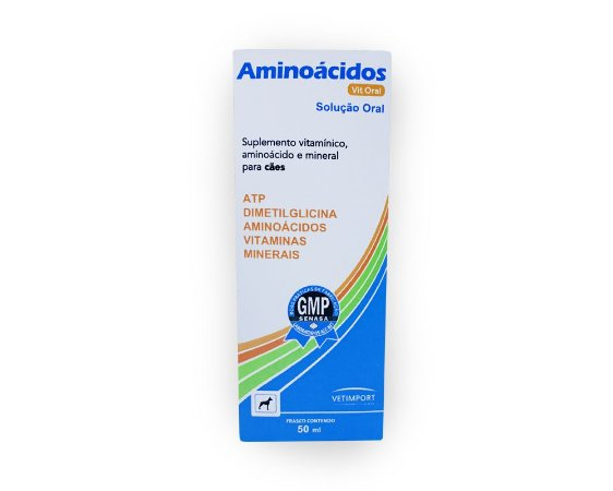 Aminoácidos Vit Oral 100ml para Cães