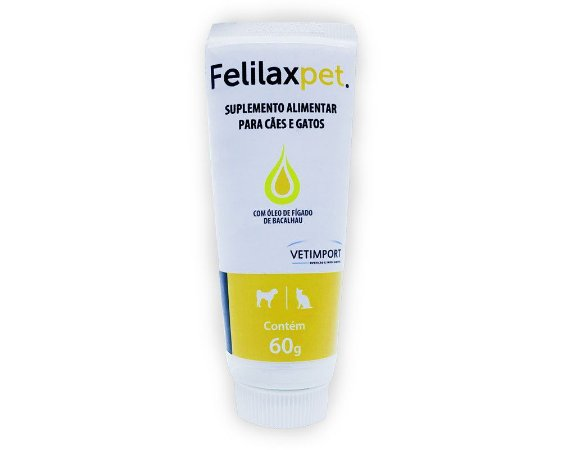 Felilaxpet 60g Suplemento alimentar.