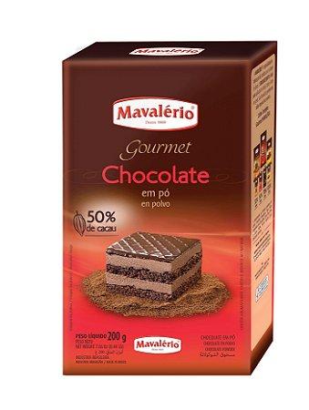 CHOCOLATE EM PÓ SOLÚVEL 50% 200G