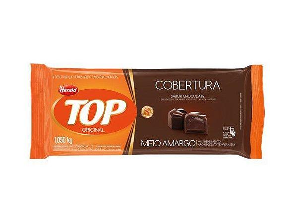 CHOCOLATE TOP MEIO AMARGO EM BARRA 1,050 KG