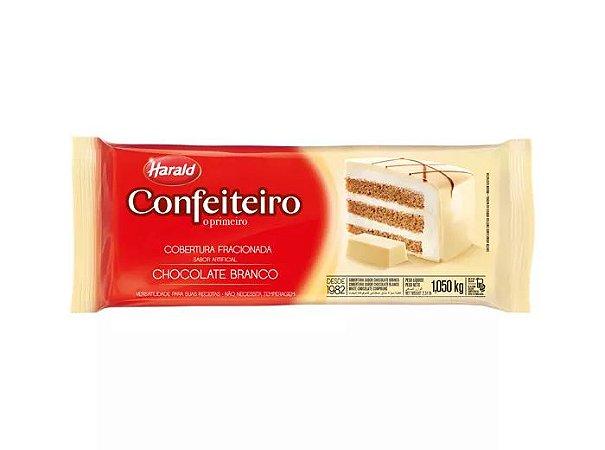 COBERTURA CONFEITEIRO BRANCO  BARRA 1,050 KG