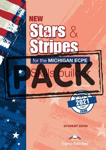 NEW STARS & STRIPES MICHIGAN ECPE SKILLS BUILDER S'S BOOK (WITH DIGIBOOK APP) (FOR THE REVISED 2021 EXAM)