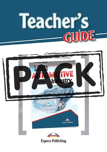 CAREER PATHS AUTOMOTIVE INDUSTRY (ESP) TEACHER'S PACK (With T's Guide & DIGIBOOKS APP.)