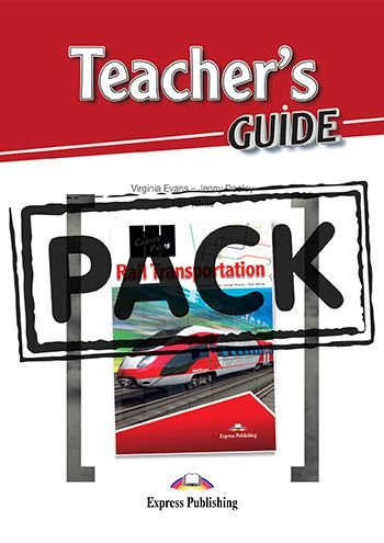 CAREER PATHS RAIL TRANSPORTATION (ESP) TEACHER'S PACK (SB + TB + CDs & DIGIBOOK APP.)