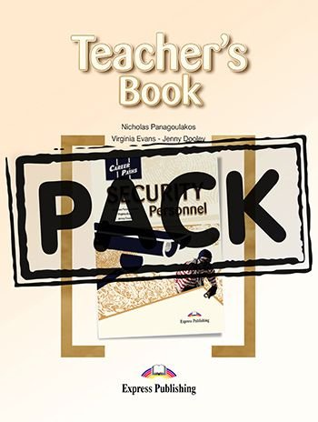 CAREER PATHS SECURITY PERSONNEL (ESP) TEACHER'S PACK WITH DIGIBOOK APP.