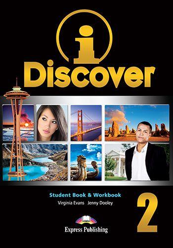 i-DISCOVER 2 STUDENT BOOK & WORKBOOK
