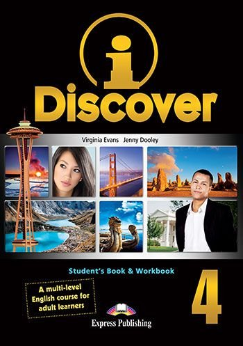 i-DISCOVER 4 STUDENT BOOK & WORKBOOK