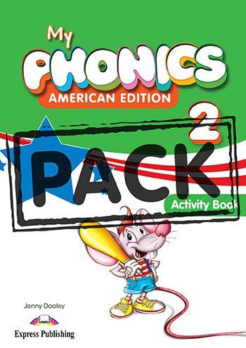 MY PHONICS 2 ACTIVITY BOOK (American Edition) WITH CROSS-PLATFORM APP.