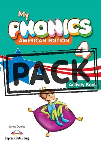 MY PHONICS 4 ACTIVITY BOOK (American Edition) WITH CROSS-PLATFORM APP.