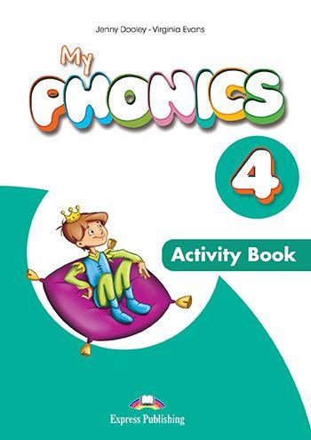 MY PHONICS 4 ACTIVITY BOOK (WITH CROSS-PLATFORM APP.) (INTERNATIONAL)