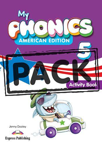MY PHONICS 5 ACTIVITY BOOK (American Edition) WITH CROSS-PLATFORM APP.