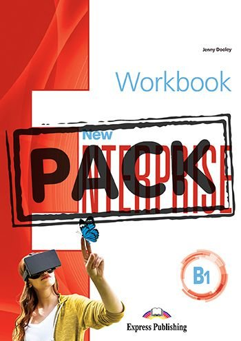 NEW ENTERPRISE B1 WORKBOOK WITH DIGIBOOK APP.