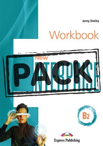 NEW ENTERPRISE B2 WORKBOOK WITH DIGIBOOK APP.