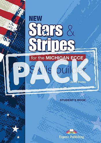 NEW STARS & STRIPES MICHIGAN ECCE SKILLS BUILDER (WITH DIGI-BOOK APP)