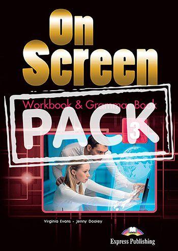 ON SCREEN 3 WORKBOOK & GRAMMAR BOOK (WITH DIGIBOOK APP) (INTERNATIONAL)