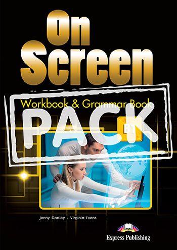 ON SCREEN B1 WORKBOOK & GRAMMAR BOOK (WITH DIGIBOOK APP) (INTERNATIONAL)