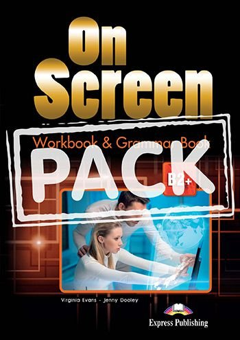 ON SCREEN B2+ WORKBOOK & GRAMMAR BOOK REVISED (WITH DIGIBOOK APP.) (INTERNATIONAL)