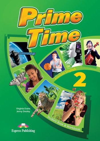 PRIME TIME 2 AMERICAN EDITION STUDENT BOOK & WORKBOOK (WITH DIGIBOOK APP)