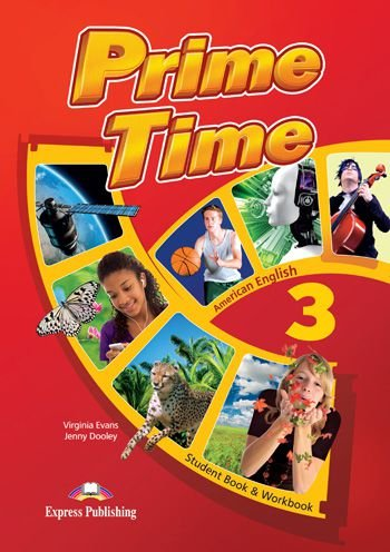 PRIME TIME 3 AMERICAN EDITION STUDENT BOOK & WORKBOOK (WITH DIGIBOOK APP)