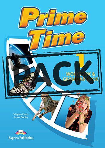 PRIME TIME 1 WORKBOOK & GRAMMAR (WITH DIGIBOOK APP) (INTERNATIONAL)
