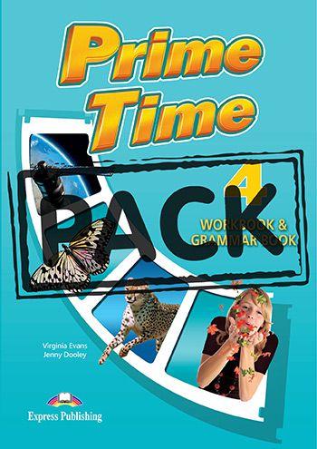 PRIME TIME 4 WORKBOOK & GRAMMAR (WITH DIGIBOOK APP) (INTERNATIONAL)