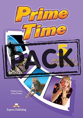 PRIME TIME 5 WORKBOOK & GRAMMAR (WITH DIGIBOOK APP) (INTERNATIONAL)