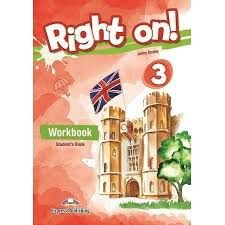 RIGHT ON! 3 WORKBOOK STUDENT'S BOOK (WITH DIGIBOOK APP) (INTERNATIONAL)