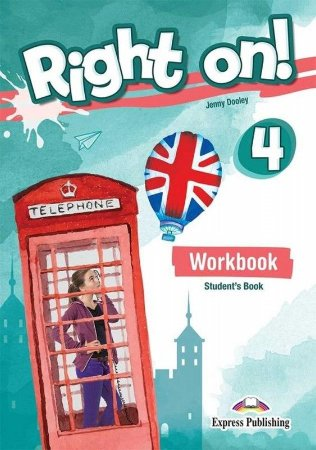 RIGHT ON! 4 WORKBOOK STUDENT'S BOOK (WITH DIGIBOOK APP) (INTERNATIONAL)