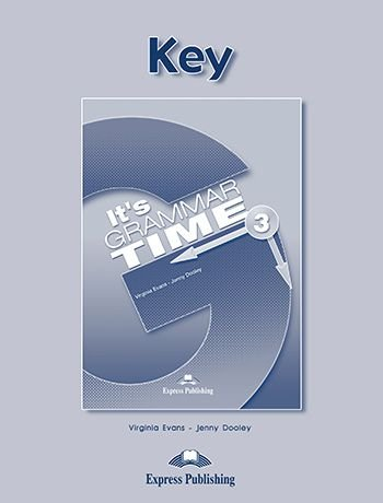 IT's GRAMMAR TIME 3 KEY