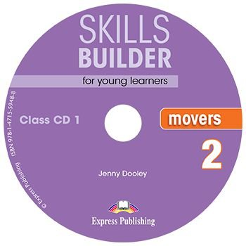 SKILLS BUILDER FOR YOUNG LEARNERS MOVERS 2 CLASS CDs (SET OF 2) REVISED