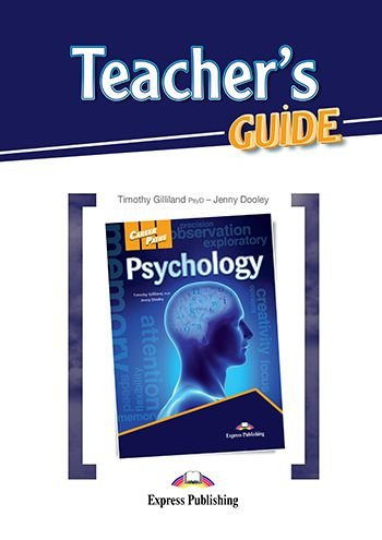 CAREER PATHS PSYCHOLOGY (ESP) TEACHER'S GUIDE