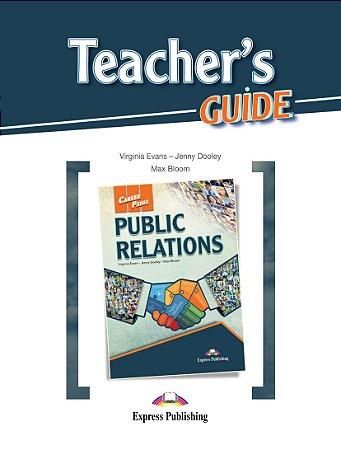CAREER PATHS PUBLIC RELATIONS (ESP) TEACHER'S GUIDE