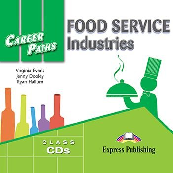 CAREER PATHS FOOD SERVICE INDUSTRIES (ESP) AUDIO CDs (SET OF 2)
