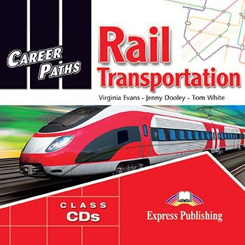 CAREER PATHS RAIL TRANSPORTATION (ESP) AUDIO CDs (SET OF 2)