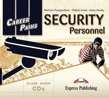 CAREER PATHS SECURITY PERSONNEL (ESP) AUDIO CDs (SET OF 2)