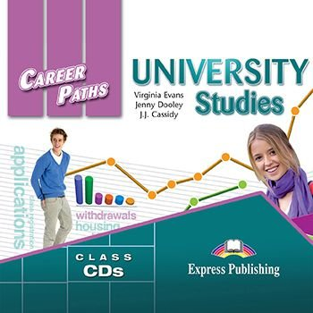 CAREER PATHS UNIVERSITY STUDIES (ESP) AUDIO CDs (SET OF 2)