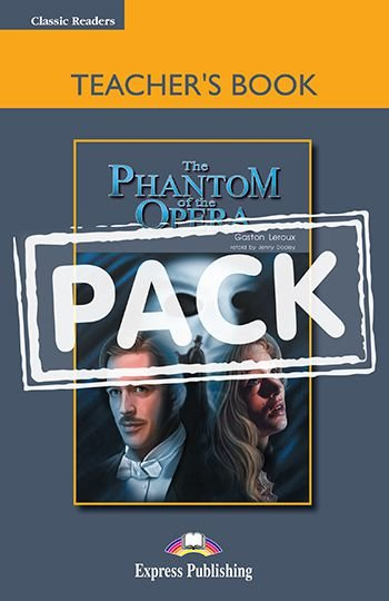 THE PHANTOM OF THE OPERA TEACHER'S BOOK (WITH BOARD GAME) (CLASSIC - LEVEL 5)