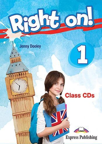 RIGHT ON! 1 CLASS CDs (SET OF 3) (INTERNATIONAL)