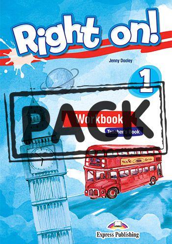 RIGHT ON! 1 GRAMMAR TEACHER'S BOOK (WITH DIGIBOOK APP) (INTERNATIONAL)
