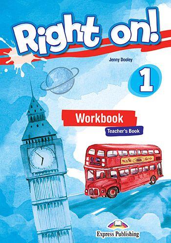 RIGHT ON! 1 WORKBOOK TEACHER'S BOOK (WITH DIGIBOOK APP) (INTERNATIONAL)